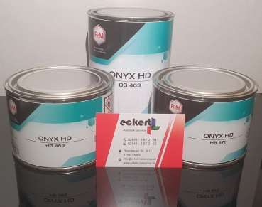 RM HB469 Onyx HD Basislack Blau 0,5 Liter