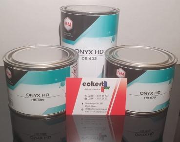 RM HB200 Onyx Basislack Lamp Black 0,5 Liter