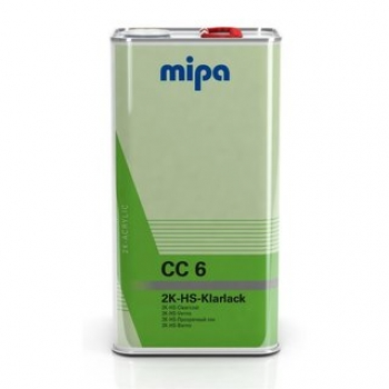 MIPA CC6 2K HS Klarlack mit UV-Filter VOC-Klarlack vorverdünnt 5 Ltr.
